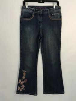Arizona Girls Plus Arizona Boot Cut Jeans Size 12.5 NEW Stre