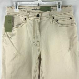 Goodfellow & Co Mens Size 32 X 30 Jeans Natural White Distre