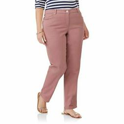 Just My Size Hanes Soft Stretch Classic Fit Twill Jeans Ligh