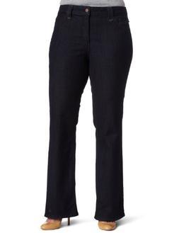 NYDJ Women's Plus-Size Hayden Modern Bootcut Jeans, Premium