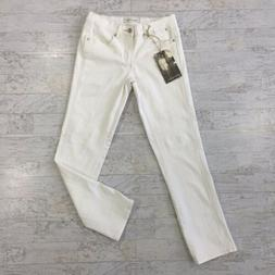 HENRY & BELLE Womens Size 24 Jeans Tapered Boyfriend Parchme