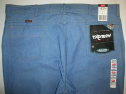 Wrangler Hero Classic Stretch Fit Flex Waist Jeans Men's 44x