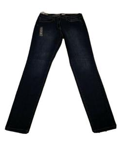 Mossimo High Rise Skinny Jeans 16L|33| Long Dark Wash Made W
