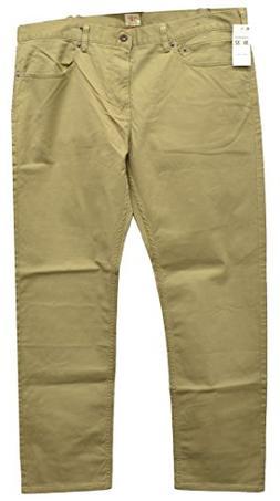 Docker Men's Jean Cut Slim Fit Flat Front Pant, New British