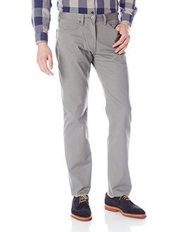 Dockers Men's Jean Cut Straight Fit Pant, Burma Grey , 42x30