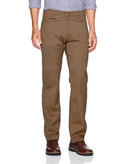 Dockers Men's Jean Cut Straight Fit Pants D2, Tobacco , 34W