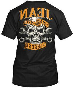 Jean The Man Myth Legend Hanes Tagless Tee T-Shirt