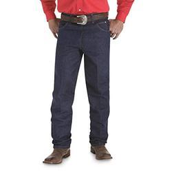 Wrangler Men's Cowboy Cut Relaxed Fit Jeans, Rigid Indigo, W