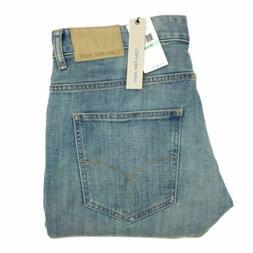 jeans 34x34 men s slim straight blue