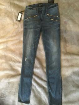 Black Orchid Jeans Billie Zipper Skinny Size 26