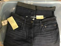 JEANS goodfellow BRAND NEW blue Slim WINTER DENIM 69 % cotto