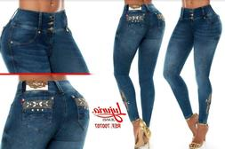 LUJURIA, Jeans Colombianos, Authentic Colombian Push Up Jean