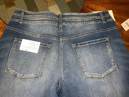 KANCAN JEANS~CURVY FIT  PLUS SIZE 33/31