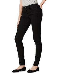 "Calvin Klein womens Curvy Skinny Jean, Black , 14R 32"" Insea"