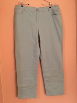 Jeans JMS By Hanes Classic Plus Sz 22W Average Aqua Sky Preo