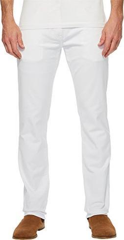 Mavi Jeans Men's Marcus Regular Rise Slim Straight Leg in Wh