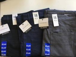 CALVIN KLEIN JEANS MEN'S 5 POCKET STRAIGHT LEG PANT Size & C