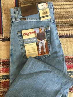 """Wrangler Jeans, Men's, Regular Fit, """"Mid Denim"""" Blue, Multip"""