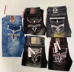 Rock Revival Jeans Mens Brand New With Tags Free Shipping Ne