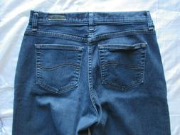 Lee Jeans Relaxed Fit Size 10 Medium Stretch Blue 1889