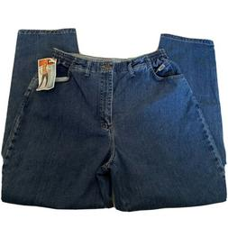 Lee Jeans Side Elastic At The Waist Mom 18M Medium Relaxed F