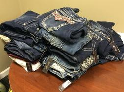 jeans skinny ankle crop size 29 various