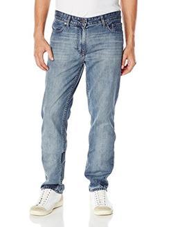 Calvin Klein Men's Slim Straight Pant, Chalked Indigo, 34W x