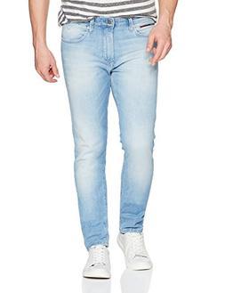 Tommy Jeans Men's Original Steve Slim Athletic Fit Jeans wit