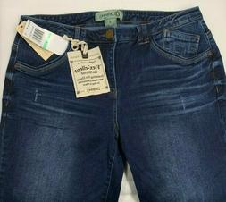 "DEMOCRACY Jeans Sz 8 ""Flex""-ellent Girlfriend Jeans Flex Ela"