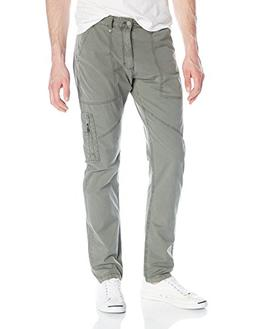 Calvin Klein Jeans Men's Taper Flight Pant, Army Dust, 34W 3