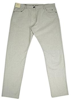 Calvin Klein Jeans Men's Tapered Leg Mid Rise Jeans Frosted