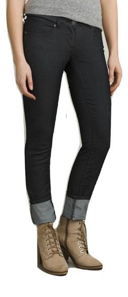 prAna Women's Kara Jeans, Size 4, Black