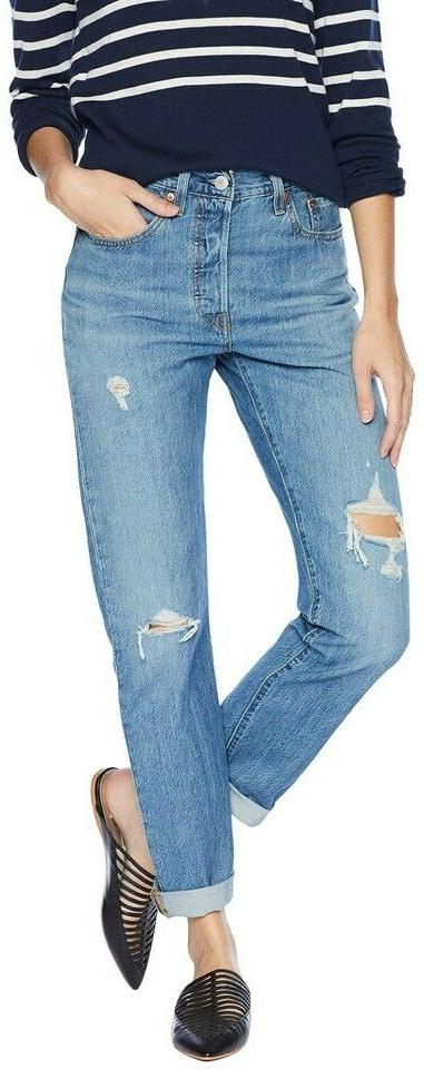 100% Cotton 501 Women's Jeans:125010292