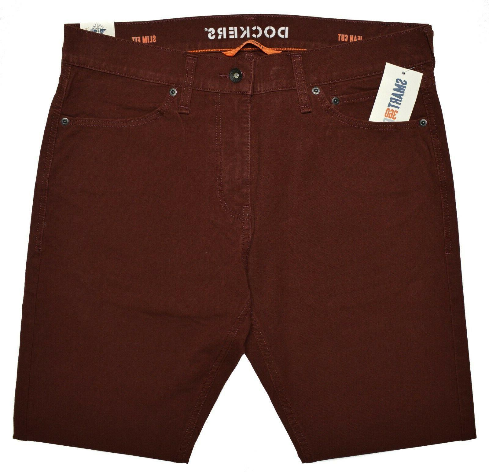 Dockers #10318 Flat Front Ultimate Jean Cut Pants MSRP $66