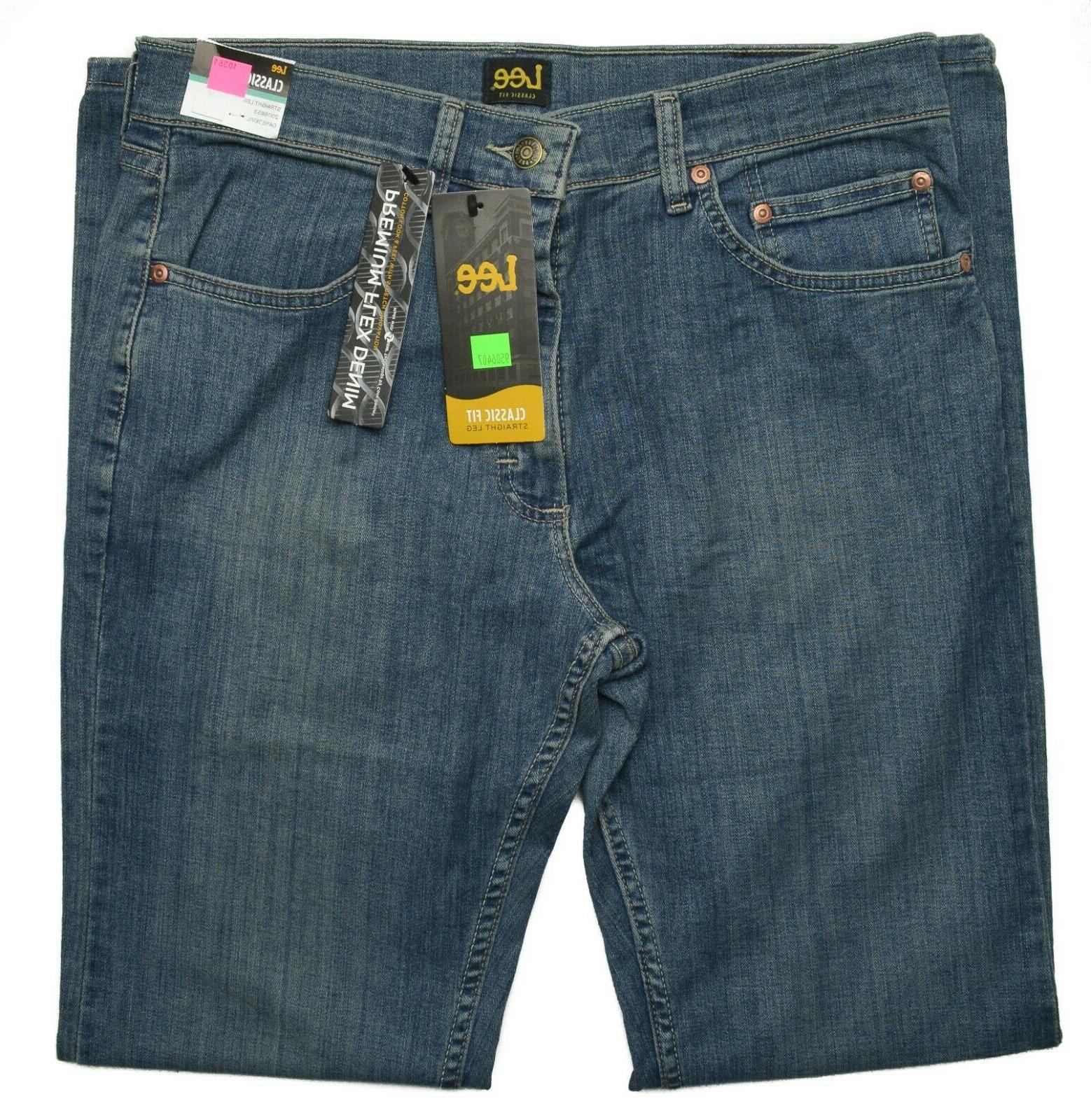 Lee #10361 Men's Classic Straight Leg Premium Flex Denim