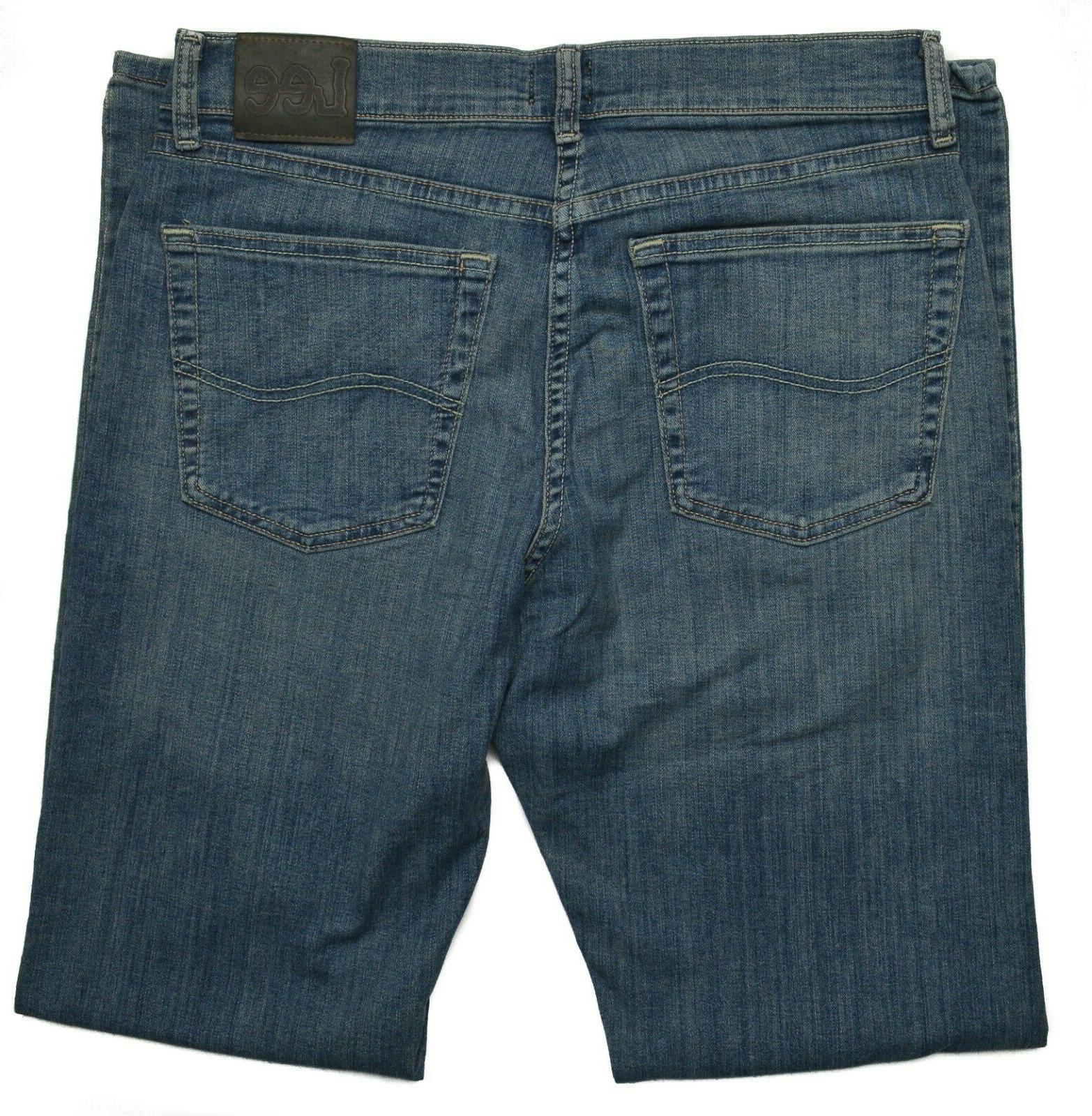 Lee Men's Classic Fit Leg Premium Jeans