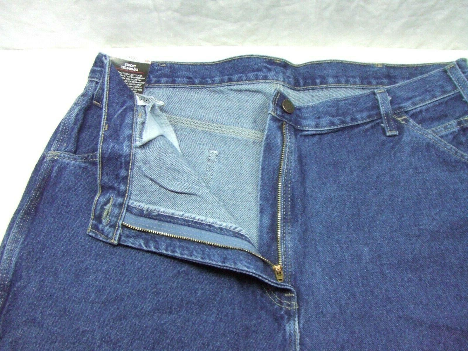 Dickies 1993SNB Fit Straight Leg Carpenter Jeans Pants NWT