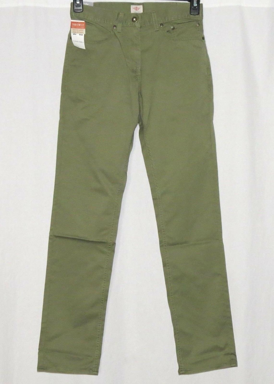 DOCKERS 29X30 NEW Mens Pants D1 Slim Fit Flyweight Twill Jea