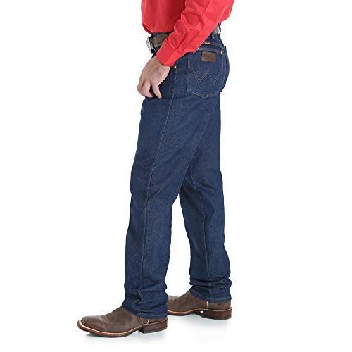 Wrangler Men's 31Mwz Cut Rigid Jeans Big Indigo 38W x