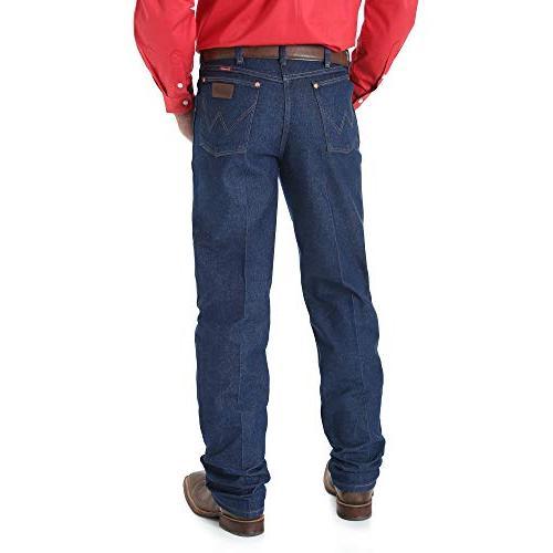 Wrangler Cut Rigid Jeans Big Indigo 38L
