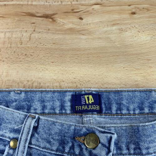 Wrangler 34x36 Regular Jeans Blue