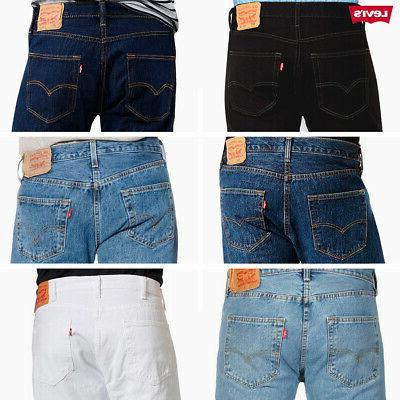 501 denim original fit jeans straight leg