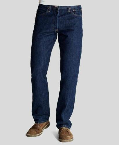 Levi's Men's 501 Original Fit Jean, Rinse, 35x32
