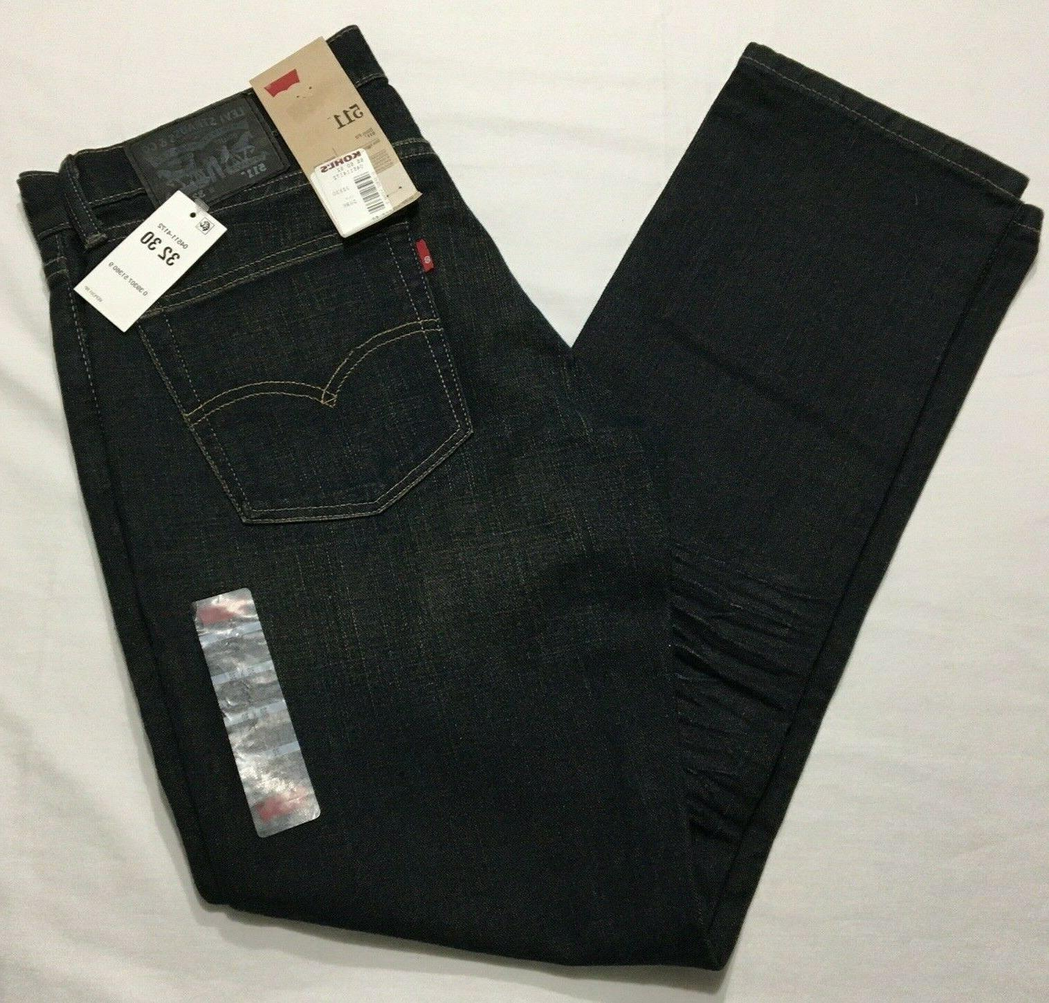 511 slim denim pants stretch