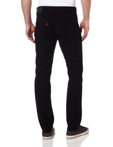 Levi's Men's Fit Black Stretch, 40x32
