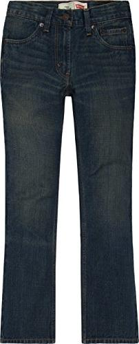 Levi's Boys 8-20 527 Loose Fit Bootcut Jean, RUSTED RIGID, 1
