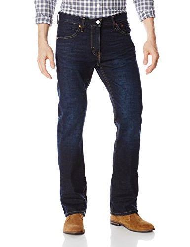 Levi's Men's Boot Cut Jean, Indigo Black,