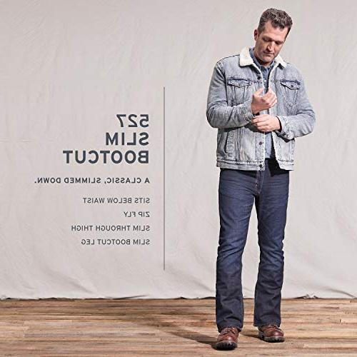 Levi's 527 Rise Boot Jean, Medium Chipped,