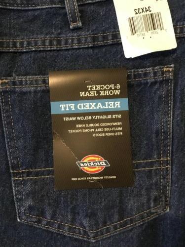 DICKIES 6 Work Jeans Sz 32 NWT