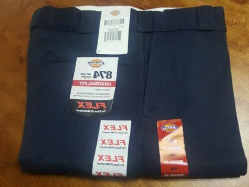 DICKIES WORK PANT COMFORT NAVY